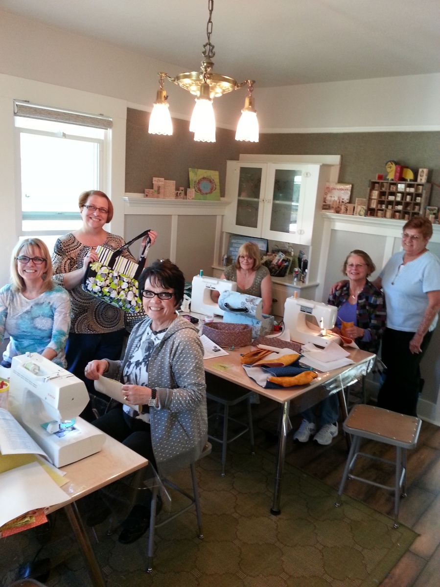 purse sewing class