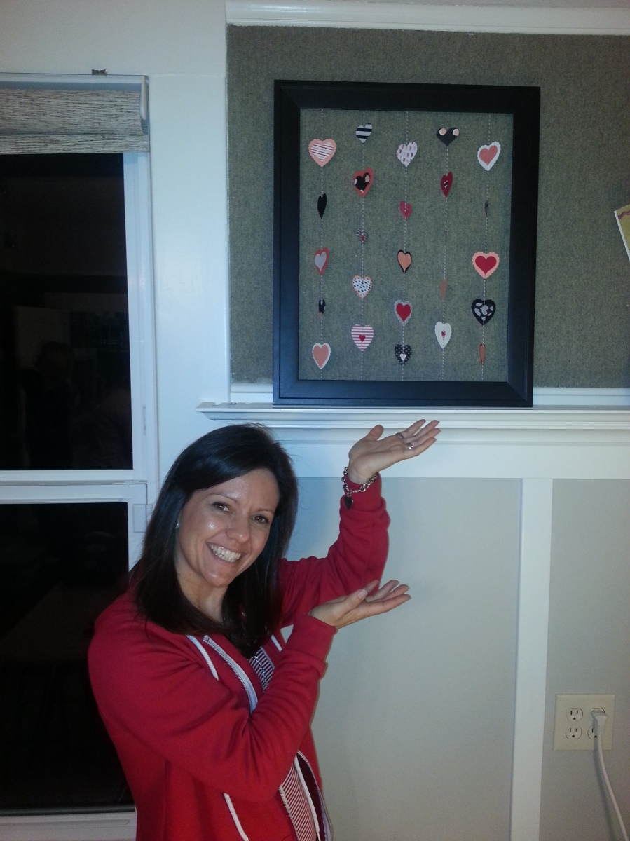 Alisa's Valentine Paper Crafting 2015