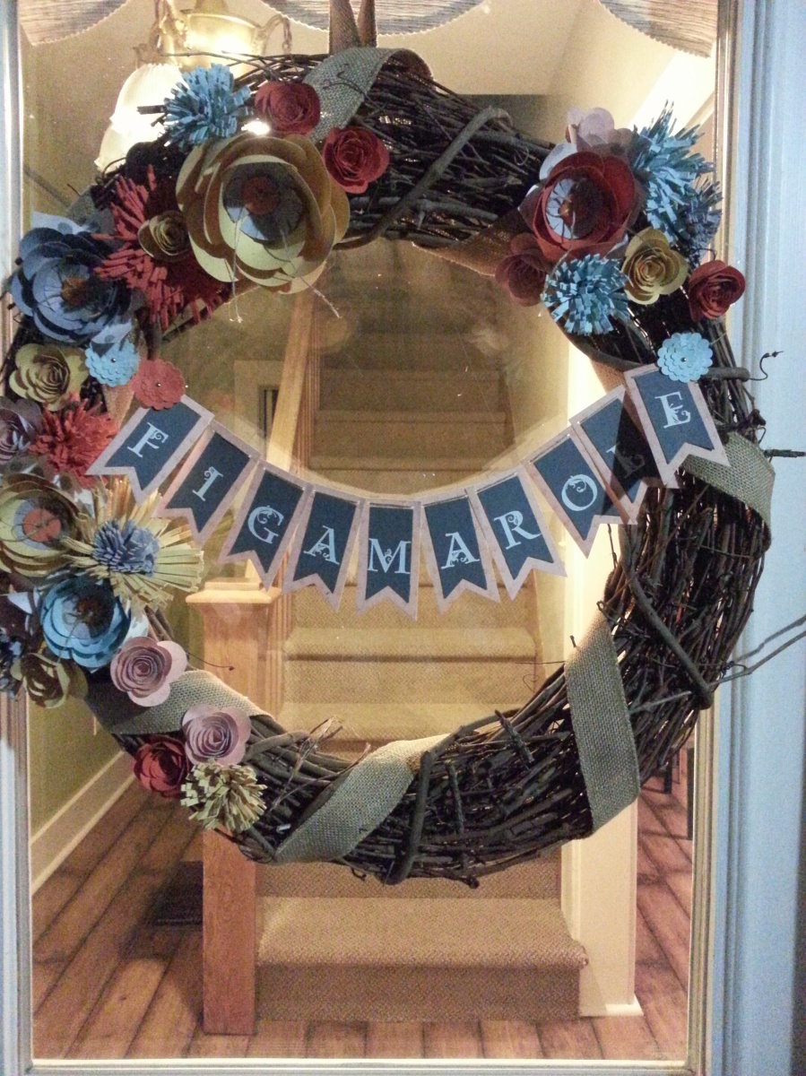 Alisa Betts Papercrafting Wreath Class